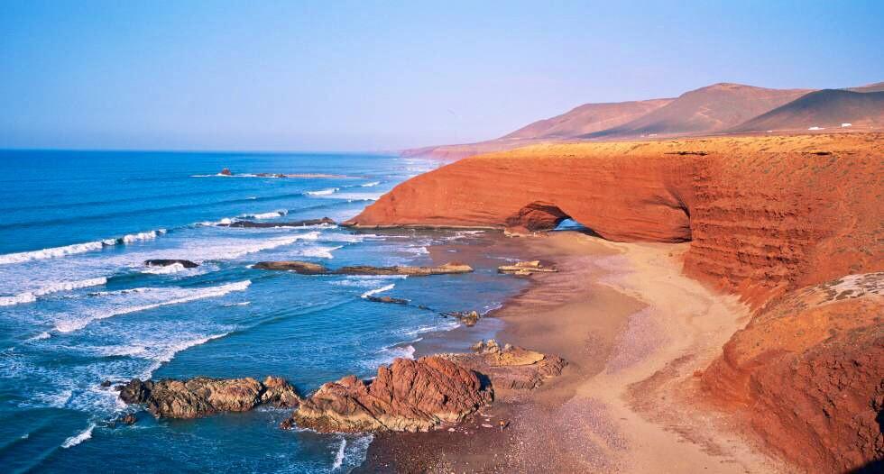 Las mejores playas por el verano en Marruecos 2018