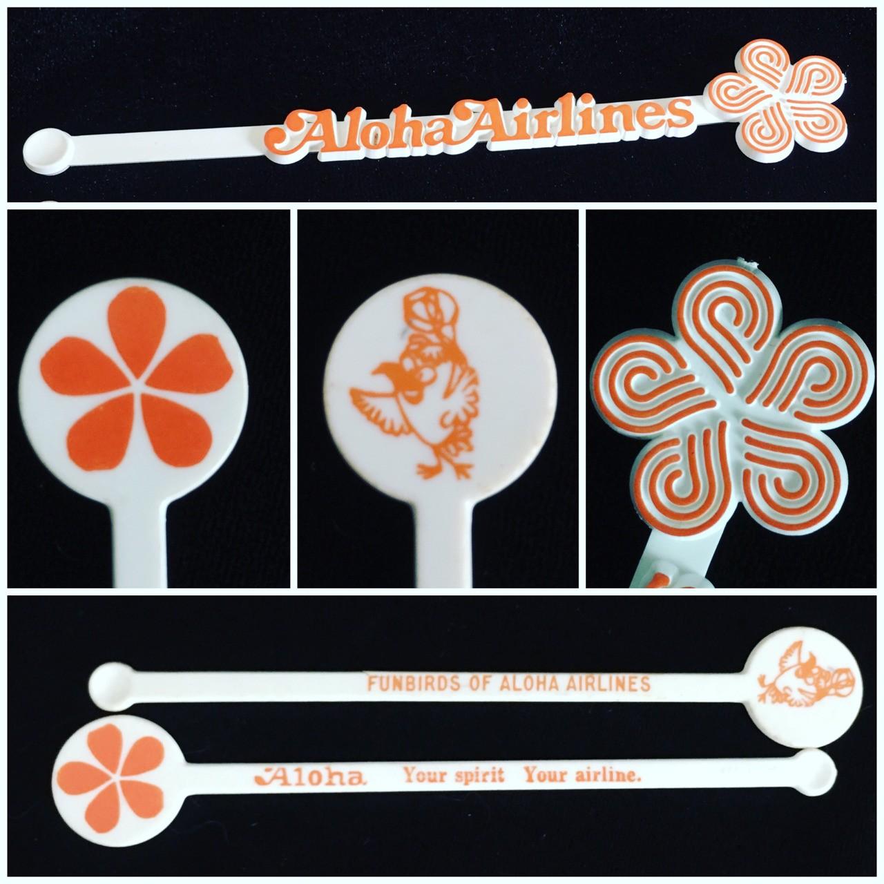 Aloha Airlines Swizzle Sticks