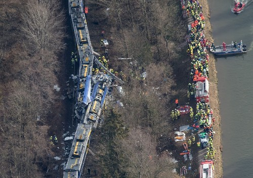 Fatal Train Crash in Germany: Pictures