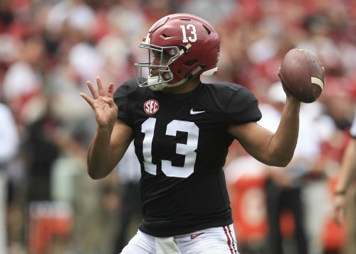 Alabama's Tagovailoa trying to learn from title-game loss