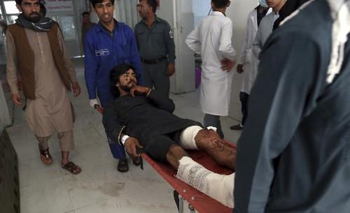 Bombing kills 24 at Afghan president's rally; Ghani unhurt