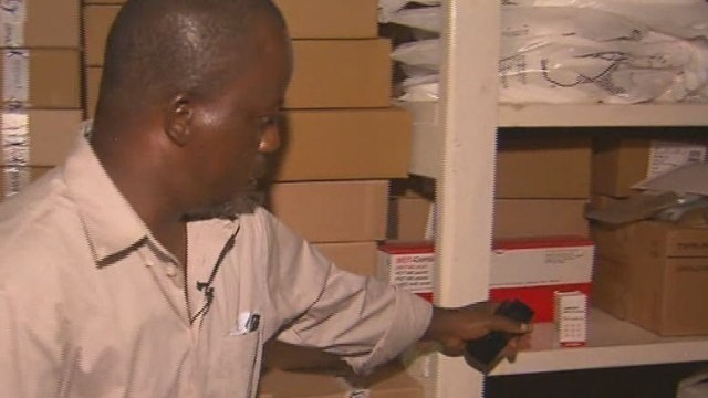 Doctor treats Ebola with HIV drug in Liberia
