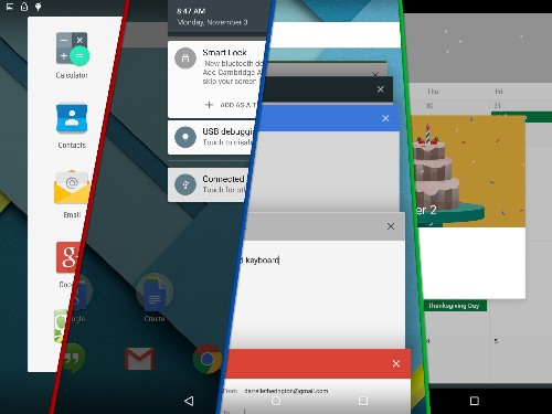 Android 5.0 Lollipop Review: Tablet Edition