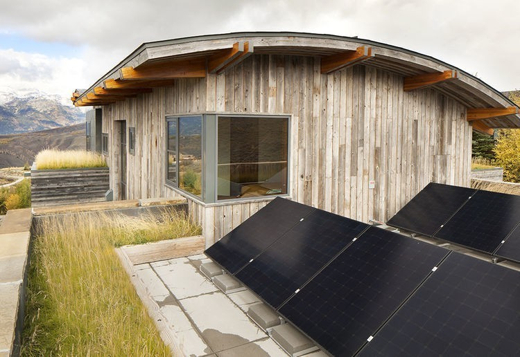 Articles about these 6 energy efficient homes soak sun on Dwell.com