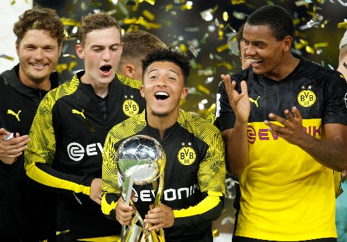 Soccer: Sancho stars as Dortmund down toothless Bayern to win German Super Cup