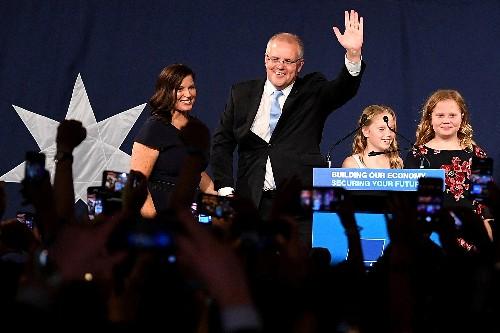 Australia's Pentecostal PM rides miraculous wave back into office