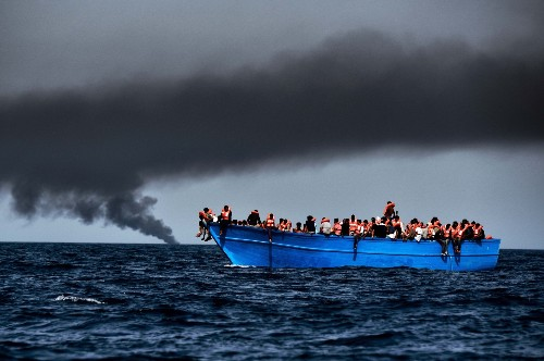 Migrants Rescued in Mediterranean: Pictures