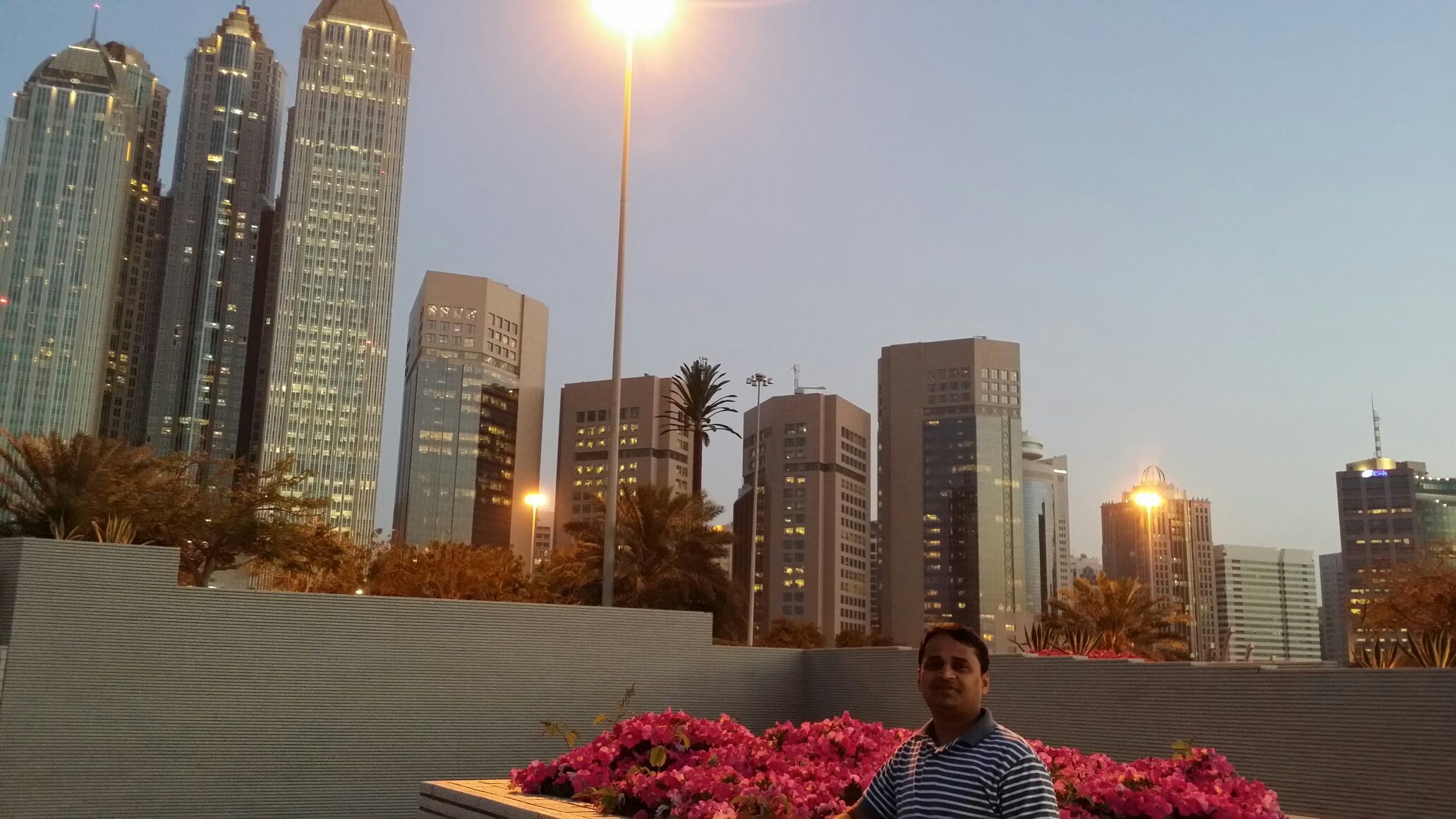 Wonderful Abu Dhabi Evening.