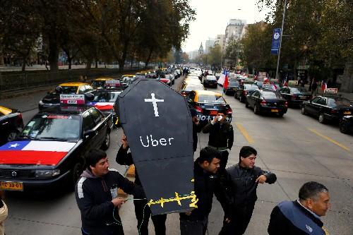 Riding with 'Uncle Diego': Uber's wild drive for growth in Chile