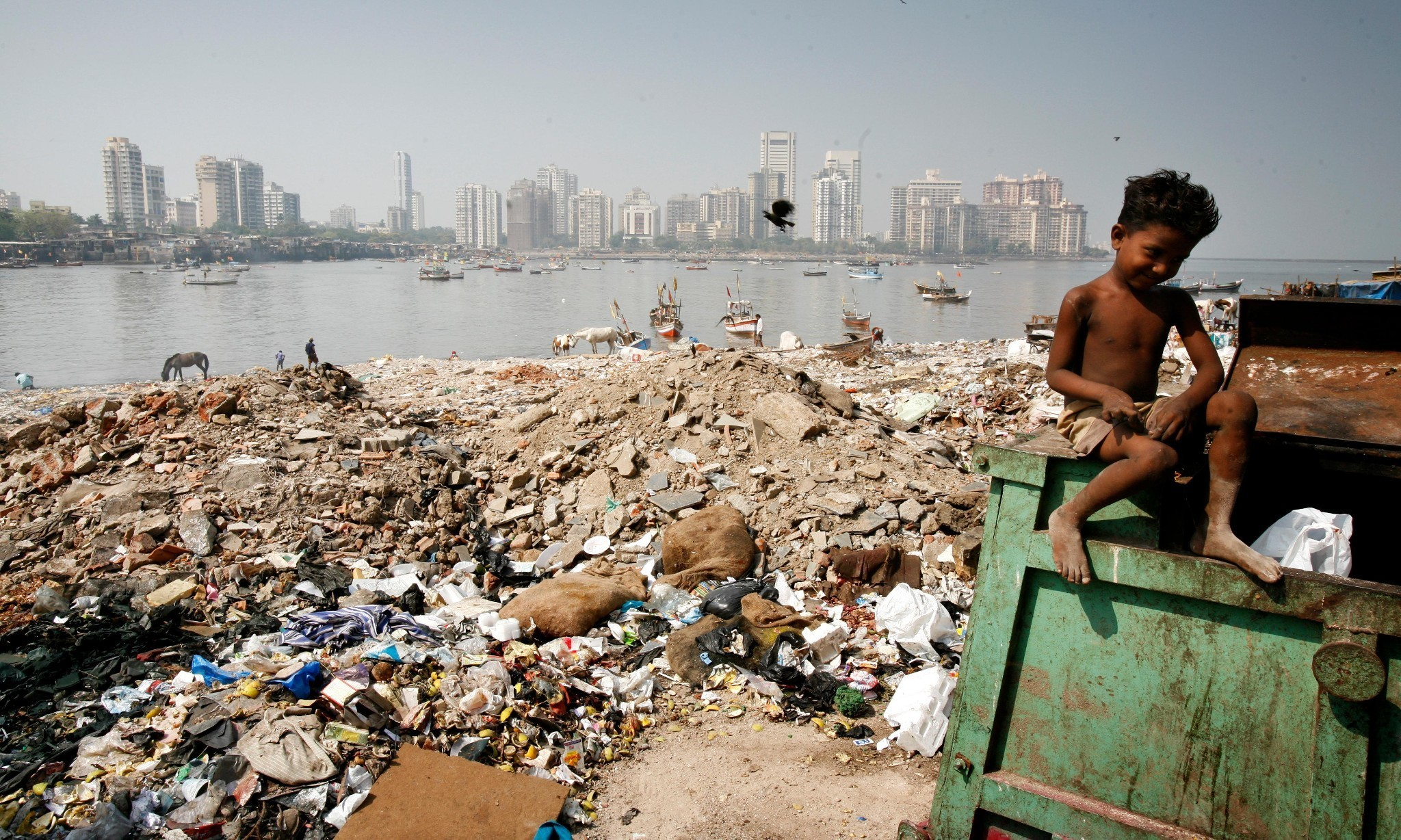 Story of cities #11: the reclamation of Mumbai – from the sea, and its people?