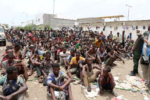U.N. seeks release of thousands of migrants held in Yemen