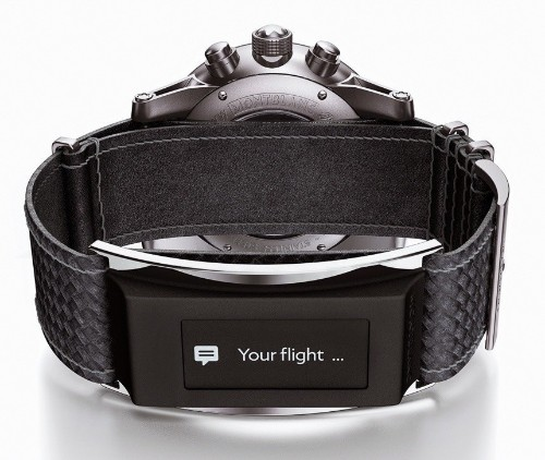 Montblanc Unveils 'e-Strap' Band Accessory With iOS Integration for Analog Luxury Watches
