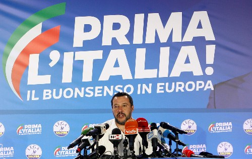 Italy's Salvini says vote win is mandate to change EU budget rules