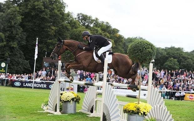 Olympic gold winner Sir Mark Todd isn't giving up Burghley just yet