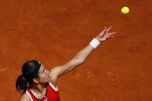 WTA roundup: Sevastova rallies to win on home soil