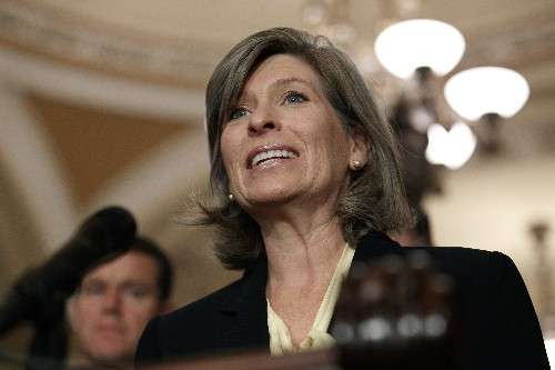 'Dark money' ties raise questions for GOP Sen. Ernst of Iowa