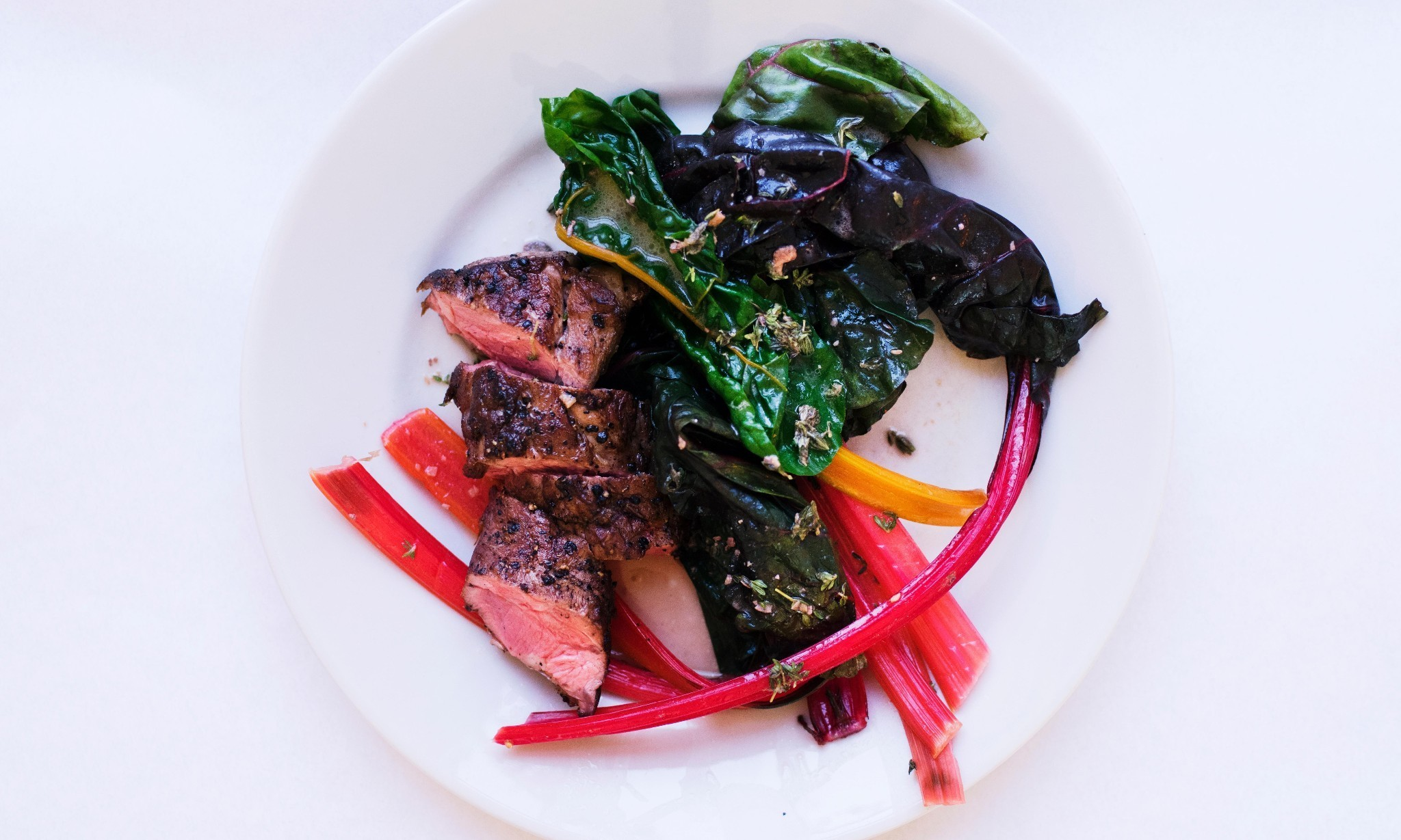 Nigel Slater's roast lamb with anchovy butter recipe