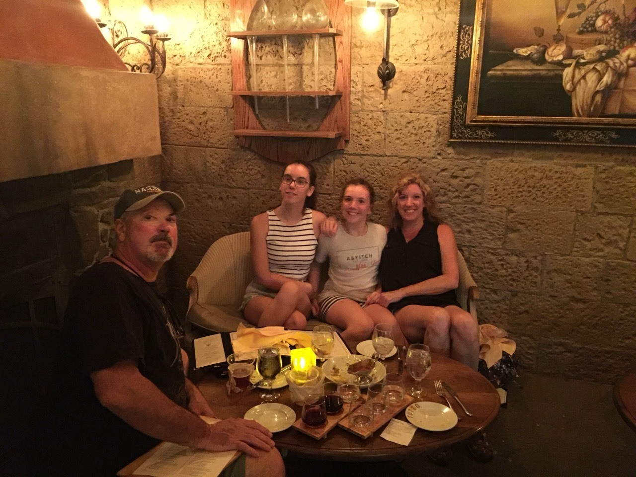 Great dinner at Disney Epcot's Tutto Gust Wine Bar