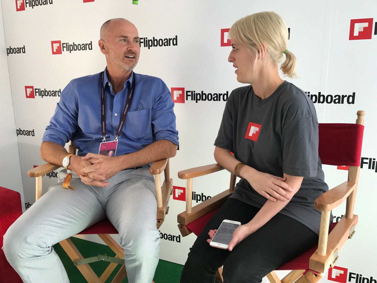 Mia is interviewen Chip Conley