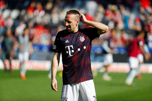 Soccer: Ribery to play on for a couple of seasons after Bayern exit