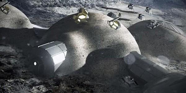 """""""달에 로봇 보내 3D프린터로 기지 짓는다"""""""