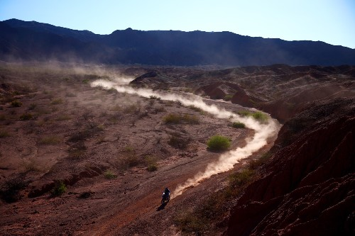 Highlights from the Dakar Rally in Pictures
