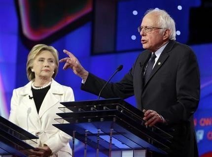 Primary odd couple pushes to unite Democratic party