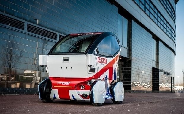 Driverless cars to create 320,000 UK jobs and save 2,500 lives