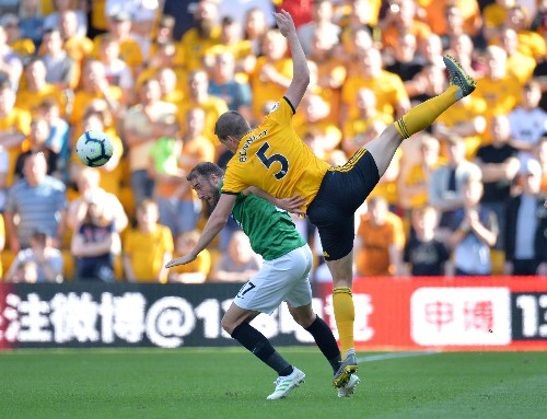 Soccer: Battling Brighton secure vital draw at Wolves