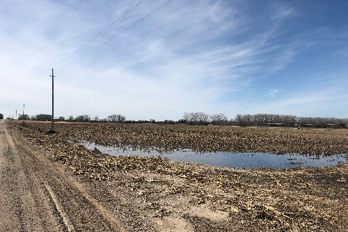 Flooding woes add to trade war stress in 'Trump country' farm belt