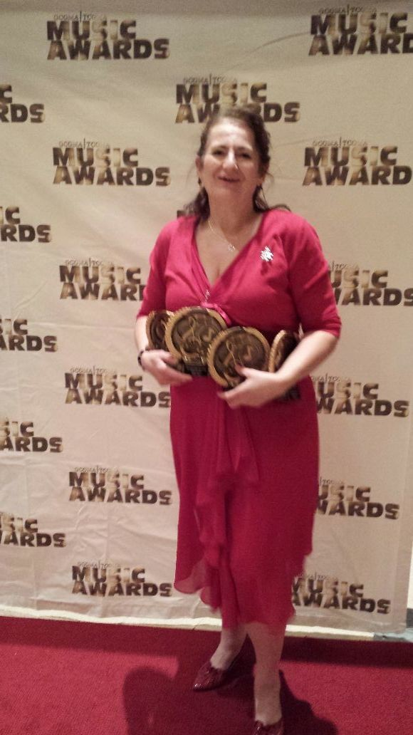 Kathryn Award winning Songwriter wins 213 Songwriter of the Year FOR NEW SONG KEEP BELIEVING Video and Most Promising Vocalist of the Year CGCMA AND TENNESSEE COUNTRY GOSPEL MUSIC ASSOC.