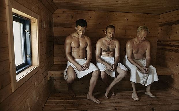 Saunas protect middle-aged men against heart attacks