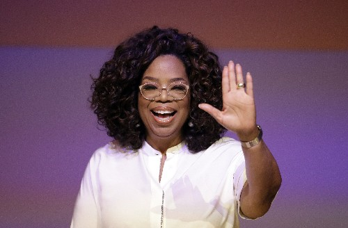 Oprah Winfrey praises Toni Morrison at Manhattan dinner gala