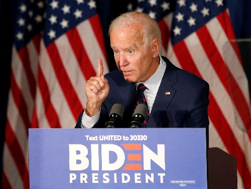 Biden aims campaign finance and ethics proposals at Trump