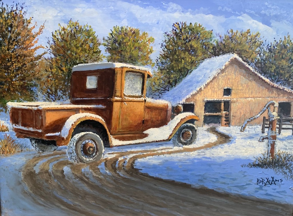Original Art By Bob Adams - cover