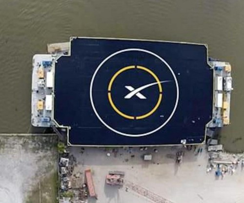 SpaceX Unveils Autonomous Drone Ship For Landing Reusable Rockets