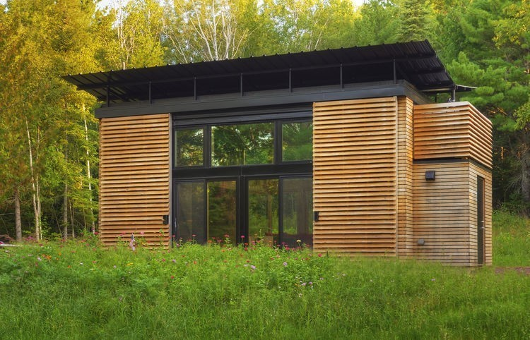 Articles about small wisconsin cabin filled multifunctional furniture on Dwell.com