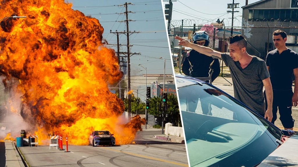 How to Film an Action Packed Car Chase ft. Avi Cohen