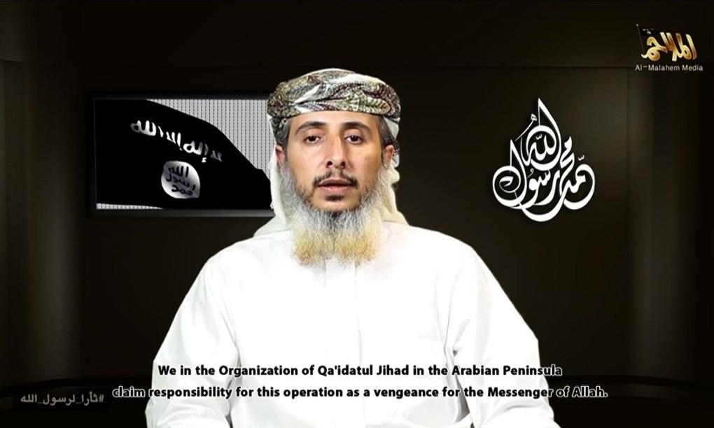 Al-Qaida in Yemen uses video to claim responsibility for Charlie Hebdo attack