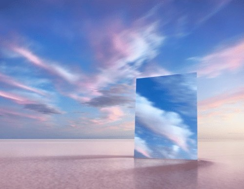 Photographer Explores Concept of Vanity By Placing Mirrors in Isolated Scenes of Nature