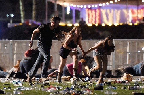 Mass Shooting in Las Vegas: Pictures