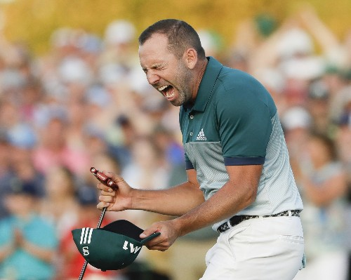 Sergio! Wins The Masters, His First Major: Pictures