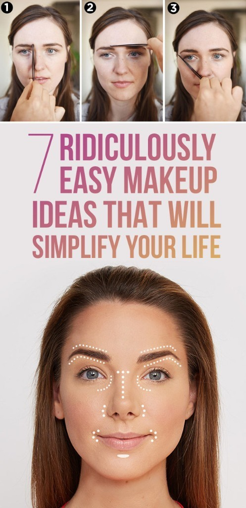 7 Ridiculously Easy Makeup Ideas That Will Simplify Your Life
