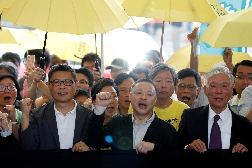 Hong Kong pro-democracy 'Occupy' activists jailed for role in mass protests