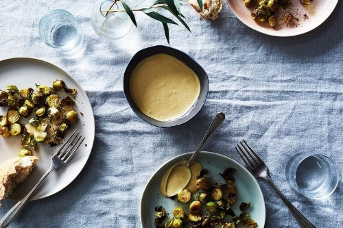 The Roasted Garlic Dressing You'll Never Not Want to Have in the Fridge