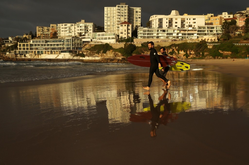 Beaches Open Up Down Under: Pictures