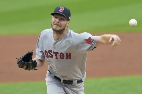 MLB roundup: Sale makes strikeout history in Boston's win