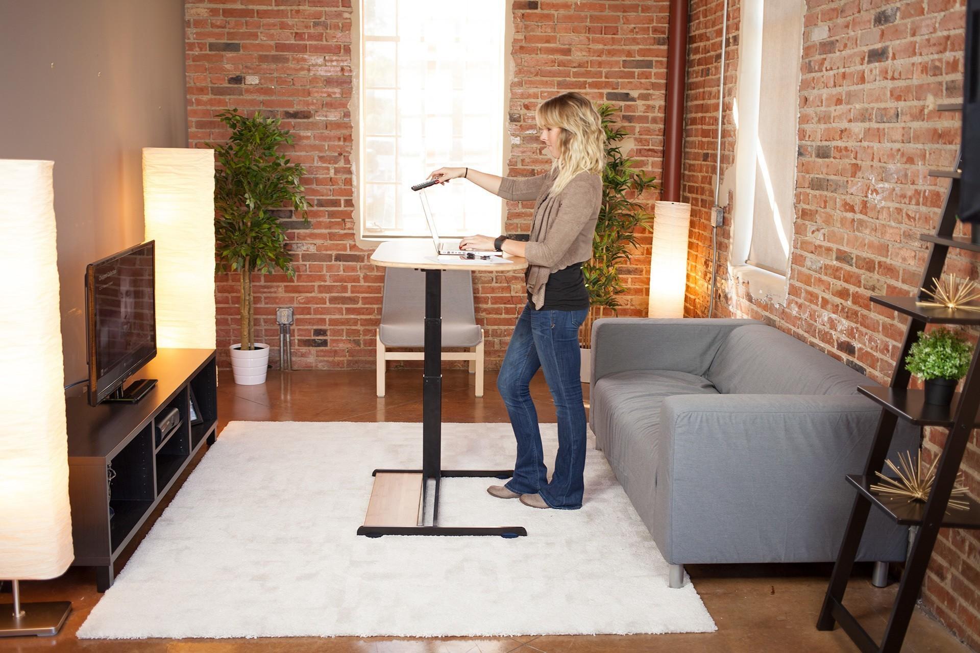 This desk was designed for the multi-tasker
