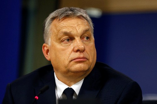 Europe's center-right suspends Hungary's ruling party