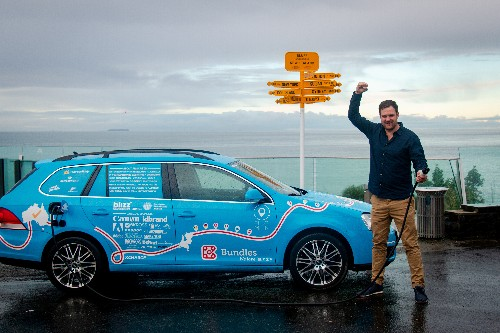 World's longest electric road trip ends in New Zealand